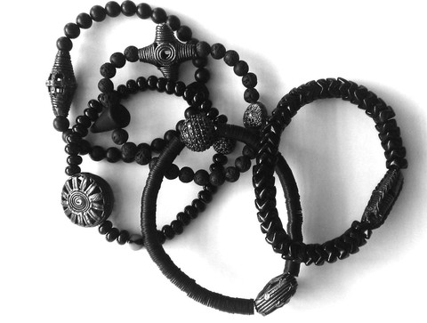 Tribal_Black_Tie_bracelets_large